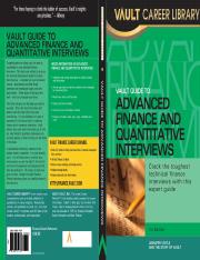 Vault Guide to Advanced Finance and Quantitative Interviews.pdf