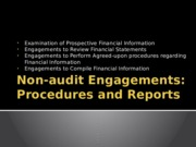 Non-audit Engagements0
