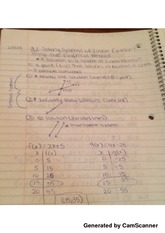 class notes algebraic method and graphic method