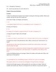 Chapter 6 Discussion Worksheet (Answers)