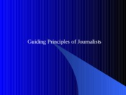 07 Fall 2007 The Culture of Journalism, Ch 14