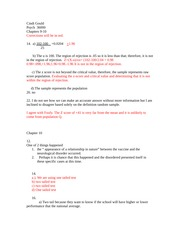 Cindi Gould Chapter 9-10 homework