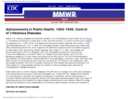Achievements in Public Health, 1900-1999_ Control of Infectious Diseases-1