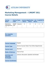 20140115073514_Marketing_Management_-_I