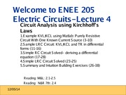 ENEE205 Fall2013 Lecture4 Fall2013