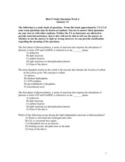 Week 4 study questions