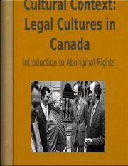 Cultural context in Canada 2017 Laws 1000B.pptx