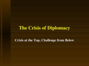 03 crisis of diplomacy i