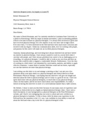 interview essay interview essay meet robert montanaro and leslie most popular documents for anth 1001