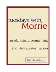 Tuesdays with Morrie.doc