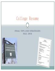 College_Resume_tips