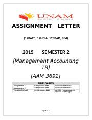 AAM3692_2015_Assignment_AAM3692_Management_Accounting_1B.docx