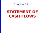 CHAPT 12 Stmt of Cash Flows