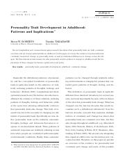 personality trait development in adulthood patters and implications.pdf
