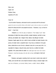 essay questions on antigone