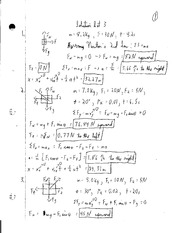 PHYS 213 - PS3 Solutions
