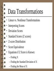 4. Data Transformations.ppt
