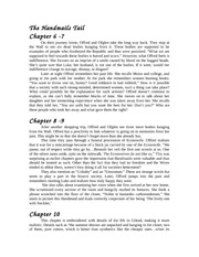 Handmaid's Tale- Chapter 6-13 Notes
