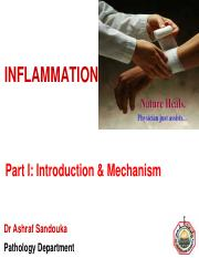 Inflammation -Part I  Introduction and mechanism