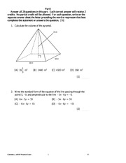 GeometryPracticeExamVersion5