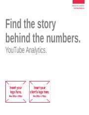 Display - YouTube Analytics