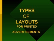 adverlecture26 types of layouts