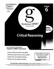 06 - The Critical Reasoning Guide 4th edition