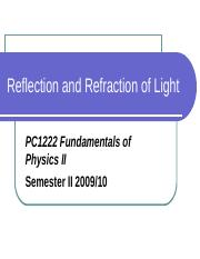 12_Reflection and refraction
