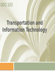 O Lec6 Transportation