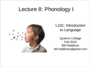 Lecture 8-phonology-I