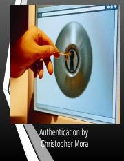 Authentication.ppt