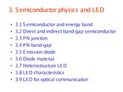 Chapter3-semiconductor and LED