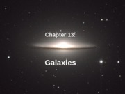 Ch 13 (Galaxies)