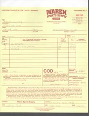 ACCT385 Woolley Bill of Lading 6891BR