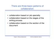 Chapter 4- Writing Collaboratively