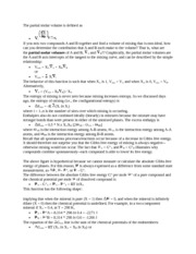 Free Energy Mixing Notes