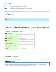 Stoichiometry of a Precipitation Reaction - Experimentation report.pdf