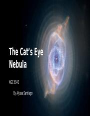 The Cat Eye Nebula.pptx