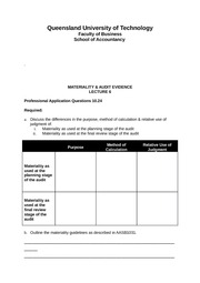 L6 2012-1 Example Template