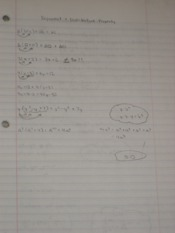 Exponents & Distributive Property Notes