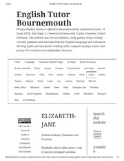 ELIZABETH-JANE _ English Tutor Bournemouth