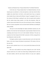 "young goodman brown documents course hero summary and response essay ""young goodman brown"" by nathaniel hawthorne"