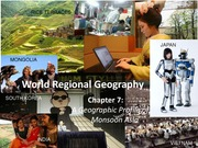 GEA2000 World Regional Geography, Chapter 7 Notes Monsoon Asia