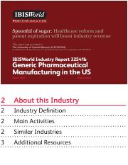 32541B Generic Pharmaceutical Manufacturing in the US Industry Report_k2opt3.pdf