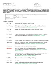 Pathways Syllabus for Fall 2015  BMED 6-15-15 (2)(2)