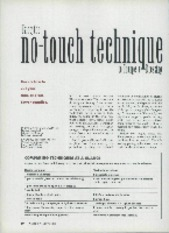 No-touch technique