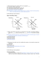 Fiscal policy_1 W Ans