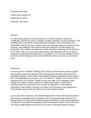 Abstract, intro of Darwinian Snails And Draft Material and Methods (Autosaved).docx