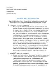 Beowulf and Literary Devices Worksheet 2(1) (3) - Beowulf and ...