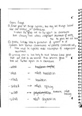 Genetics Bio 302_Genetic Linkage Notes